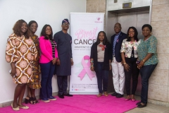 Breast Cancer Awareness with Staff