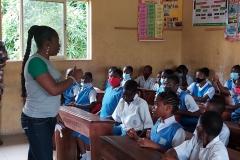 Kuramo Primary School Mentorship session